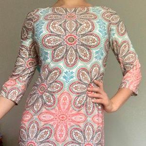 BEAUTIFUL Summer mid sleeve dress